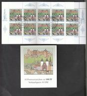 Deutschland BRD  Gestempelt  Markenheft  33  800 Jahre Heidelberg 1 Stück Katalog 14,00 - Markenheftchen