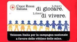 ITALIA - Scheda Telefonica - Telecom - Croce Rossa Italiana - Golden 852 - C&C 2942 - 5.000 - 31.12.00 - Mant - Italia