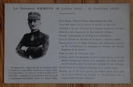 Société Des Amis Du Général Percin - Paris Avenue De Saxe - Carte De Sociétaire - (n°14529) - Personaggi