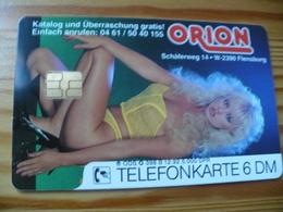 Phonecard Germany O 398 B 12.92. Orion 5.000 Ex. - Woman, Erotic - O-Serie : Serie Clienti Esclusi Dal Servizio Delle Collezioni