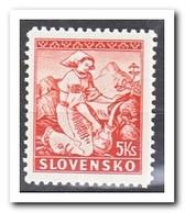 Slowakije 1939, Postfris MNH, Costums, L10 - Slowakije