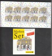 Deutschland BRD  Gestempelt   Markenheft  38  1100 Jahre Weimar 1 Stück Katalog  13,00 - [7] République Fédérale