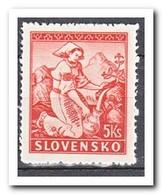 Slowakije 1939, Postfris MNH, Costums, L12,5 - Slowakije