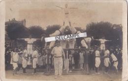SANNOIS 1921 - Carte Photo Du Festival De Gymnastique ( 95 ) - Sannois