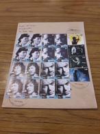 L'Argentine Enveloppe Circulé Avec Sereies Des Musiciens - Cartas