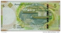 TUNISIA P. 95 5 D 2013 UNC - Tusesië