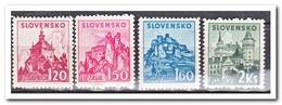 Slowakije 1941, Postfris MNH, Castles And Palaces - Unused Stamps