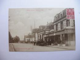 A465. CPA. 61. L'AIGLE.  (Orne).Rue De La Gare. Beau Plan Animé. écrite & Voyagée 1931 - L'Aigle