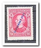 Slowakije 1939, Postfris MNH, Andrej Hlinka, L12,5 - Slowakije