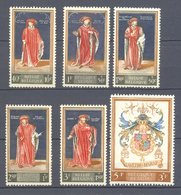 1102/07 Culturele Reeks POSTFRIS** 1959 - Belgique