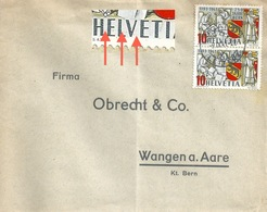 Brief  Lugano - Wangen An Der Aare            1941 - Covers & Documents