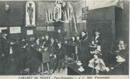 Paris-Montmartre No 1 - Cabaret Du Néant - Salle D'Intoxication - Alb. Plantier Imp. - Cafés, Hoteles, Restaurantes