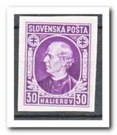 Slowakije 1939, Postfris MNH, Andrej Hlinka - Slovakia