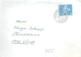 Drucksache  Reichenbach Im Kandertal - Visp              1965 - Brieven En Documenten