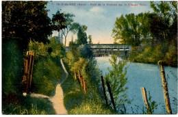 ISLE-de NOË Le Pont De La Victoire Sur La Grande Baîse CPA N° 17 Ecrite En 1935 TBE - Autres Communes