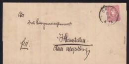 Deutsches Reich Brief Pfennigzeit 1889 Salem Nach Heinstetten Lot 1272 - Deutschland