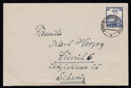 Deutsches Reich Auslands Brief Portorichtig EF 595  1935 Berlin Nach Zürich Schweiz Lot 565 - Deutschland