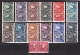 Belgie COB* 221-233 - 1922-1927 Houyoux