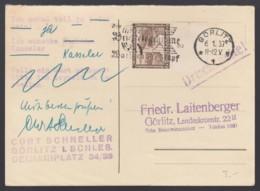 Deutsches Reich Postkarte Drucksache 1937 Görlitz Lot 1393 - Deutschland