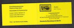 Deutschland  Berlin West ** Markenheft  Privat Mit Minr. 822 1 Stück Katalog  7,00 - Berlin (West)