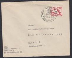 Deutsches Reich Brief EF 601 Olympiade 1936 Berlin Olympia-Stadion Nach Wien Lot 1425 - Deutschland