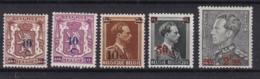 Belgie COB* 568-572 - Bélgica