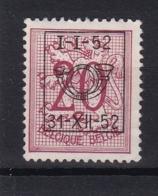 Belgie COB° PRE 622 - Zonder Classificatie
