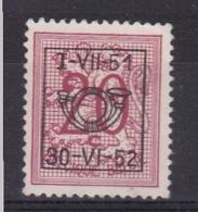 Belgie COB° PRE 616 - Prematasellados