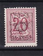 Belgie COB° PRE 632 - Preobliterati