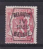 Belgie COB° PRE 335 - Prematasellados