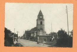 CPSM - Condé Folie  -(Somme) - L'église Et Route D'Amiens - Frankrijk
