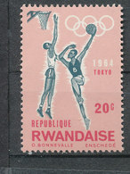 Y&T N° 198-  J.O. De Tokyo - Rwanda