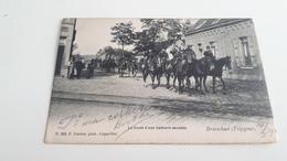 *BRAASCHAET-POLYGONE  Le Front D'une Batterie Montée Oblitéré En 1905 - Brasschaat