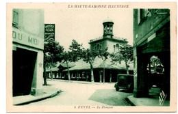 **REVEL Le Donjon** CPA Ecrite En 1935 TBE - Revel