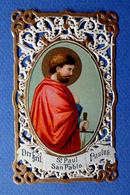 IMAGE PIEUSE...RELIGIEUSE . CANIVET .....SAINT PAUL - Images Religieuses