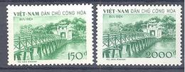 Viet Nam Du Nord: Yvert N°156/157 - Vietnam