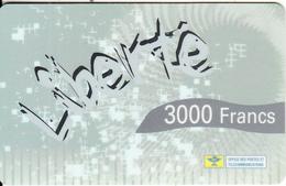 NEW CALEDONIA - Liberte By OPT Prepaid Card 3000 CFP, Tirage 10000, Exp.date 31/12/02, Used - New Caledonia