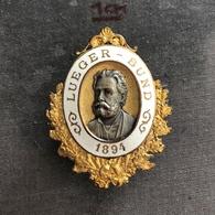 Badge Pin ZN008097 - Karl Lueger Bund 1894 (Austria Wien Vienna Mayor) - Militaria