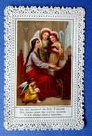 IMAGE PIEUSE...RELIGIEUSE . CANIVET ....ED. BENZINGER AUTRICHE....ANGES JOUANT DE L'ORGUE - Images Religieuses