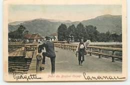 Podul Din Brosteni Carpati - Rumänien