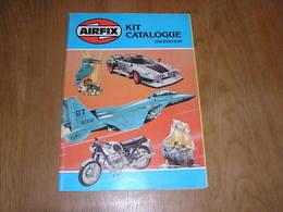 AIRFIX CATALOGUE 17 Th EDITION Model Kit Plastic Boat Ships Aircraft Car Moonraker 007 Space Véhicle Armoured Cars Moto - Catalogues