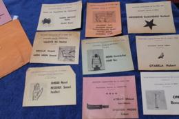 Petit Lot De Bulletin Des Elections Législatives Au Cameroun En 1960 - Documents Historiques