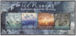 Australian Antarctic Territory 2016 Bloc Feuillet Fleurs De Glace Neuf ** - Neufs