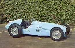 Talbot-Lago T26 Grand Prix Race Car-  1952  -  Carte Postale - Grand Prix / F1