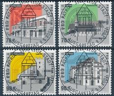 272-275 / 1753-1756 Pro Patria 2001 Mit ET-Vollstempel - Used Stamps