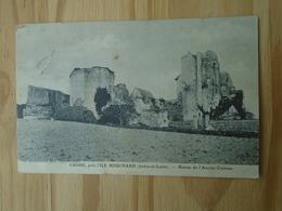Crissé , Près L'île Bouchard , Ruines De L'ancien Château - France