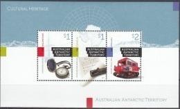 Australian Antarctic Territory 2017 Bloc Feuillet Patrimoine Culturel Neuf ** - Australian Antarctic Territory (AAT)