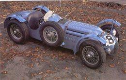 Talbot-Lago Le Mans Race Car  -  1950  -  Carte Postale - IndyCar