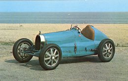 Bugatti 8 Cylindre Supercharged Race Car  -  1927  -  Carte Postale - Grand Prix / F1