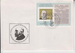 GERMAN DEMOCRATIC REPUBLIC 1982 DOCTOR ROBERT KOCH MEDICINE TUBERCULOSIS NOBEL PRIZE FDC - Medicine